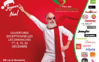 Venez rencontrer le Père Noël au Parc des Bouchardes les 4 premiers week-ends de décembre
