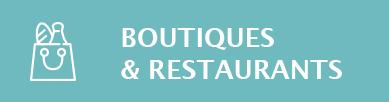 Bouton boutiques et restaurants